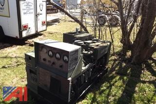 Military Surplus Generator Trailer and Generator