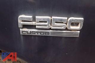 1989 Ford F350 Utility