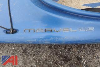 (2) Kayaks, Old Town and Marvel 14.5