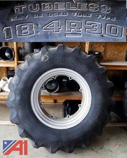 "New Goodyear ""Case"" 18.4R30 Tractor Tire"