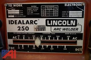 Lincoln Arc Welder Idealarc 250