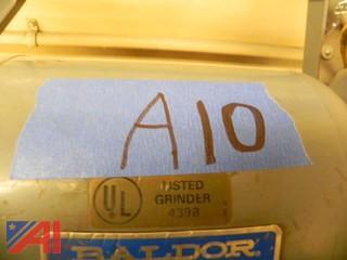 Baldor Grinder-Buffer Model 8100WD