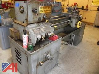 Rockwell Engine Lathe Metal Lathe Model 25-209
