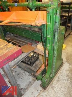 Niagara Sheet Metal Shear Model 136F
