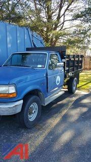 1993 Ford F250 Flatbed