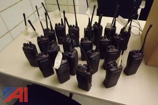 (21) Used Motorola HT 750 Portable Radios