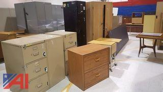 Lot of Assorted Cabinets