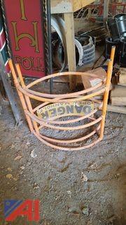 Manhole Safety Cage