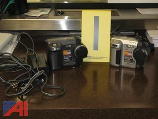 (2) Sony Digital Cameras