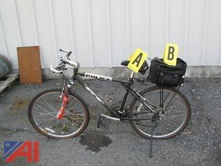GT Police Bike with Saddle Bag