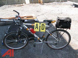 GT Police Bike with Saddle Bag