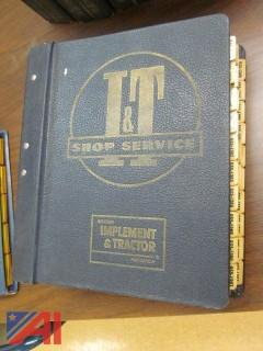 Vintage International Harvester Repair Manuals