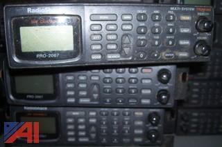 (16) Radio Shack Pro 2067 Scanners