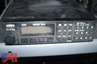 (5) Uniden BC760XLT Scanners