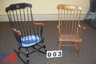 (2) Rocking Chairs