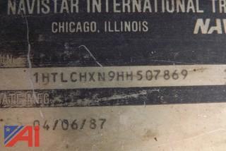 1987 International 1754 Dump