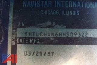 1987 International 1754 Sander