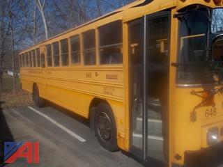 2000 Bluebird TC2000 Transit Bus