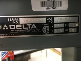 Delta Band Saw and (1) Overhead Door