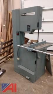 Delta Band Saw and (1) Overhead Door