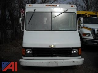 "1993 Chevrolet ""P-30 2 Door, White"
