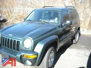 2003 Jeep Liberty Limited Edition 4 DR SUV, Dark Green