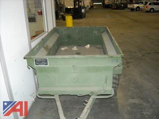 Army Jeep M101 CDN2 1/4 Ton Cargo Trailer
