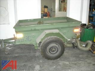 Army Jeep M101 CDN2 1/4 Ton Cargo Trailer