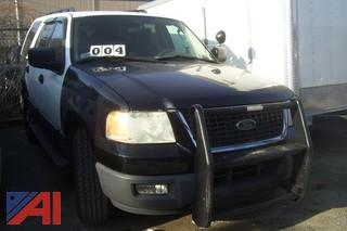 2006 Ford Expedition Police SUV