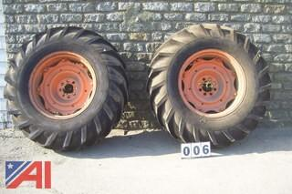 BAR Style Tractor Tires