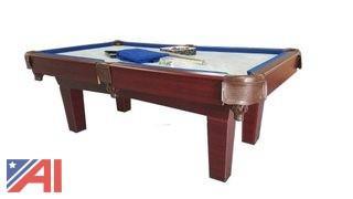 8' HA-70353A – Slate Pool Table