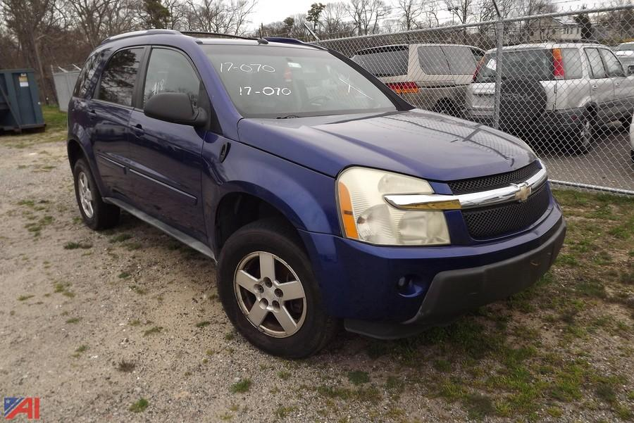 auctions international auction brookhaven impounds 10660 item 2005 chevrolet equinox suv. Black Bedroom Furniture Sets. Home Design Ideas