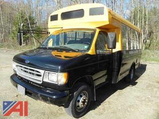 2001 Ford Econoline E350 SD Bus