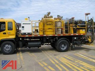 1998 GMC T8500 LDI Pavement Marking Truck