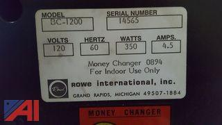 Rowe Dollar Bill Changer
