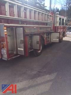 1993 Sutphen Deluge 1000 gal. Pumper Fire Truck