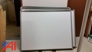 (7) Smartboard's and MegaFrame Server Rack