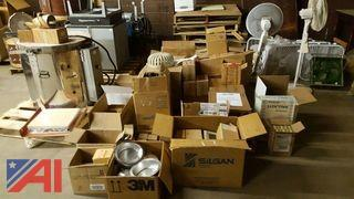 Large Lot of Miscellaneous Electric Equipment