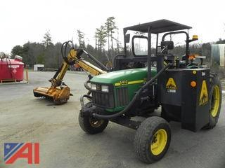1998 John Deere 5410 Tractor w/ Flail Mower