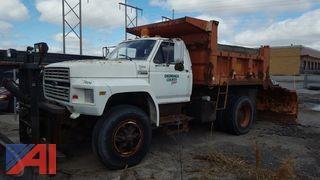 1988 Ford F800 Dump Truck