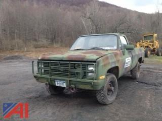 1986 Chevy D30 Military Pickup