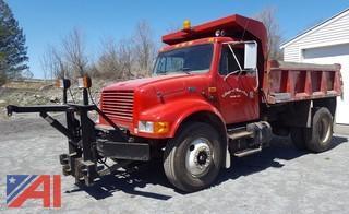 2001 International 4700 Dump Truck