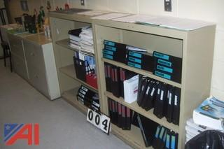 Metal Bookcases Files Cabinets