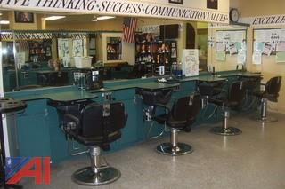 (4) Hair dressing stations