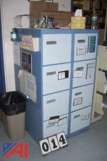 Hon metal cabinets