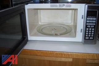 (2) Microwave Ovens