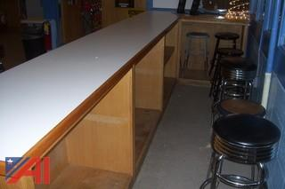 L shaped Counter