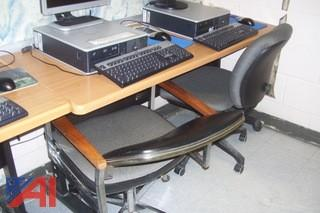 Computer Tables with Chairs