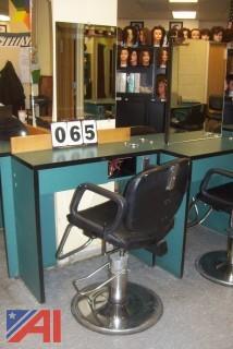 Single Cosmetology Station
