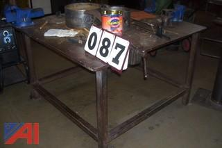 Welding Table with Vise